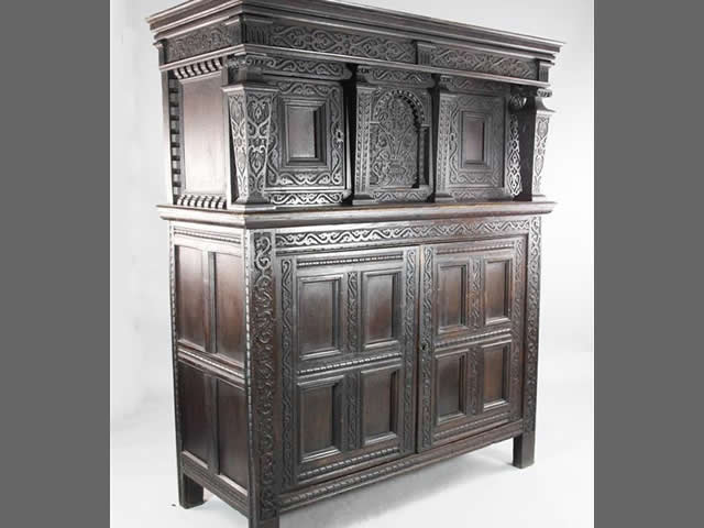 17th c English Cupboard
