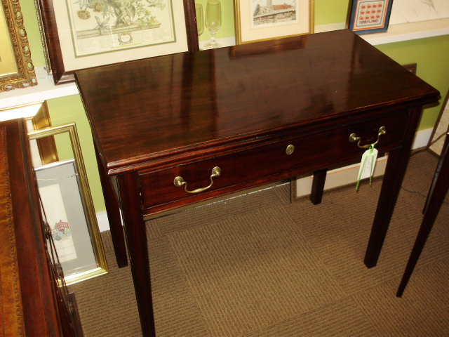 Cuban Mahogany Card Table